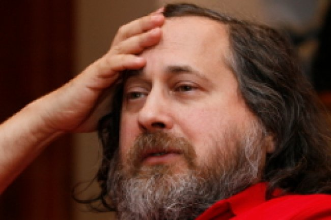 Richard Stallman, président de la Free Sotware Foundation Crédit Photo: D.R