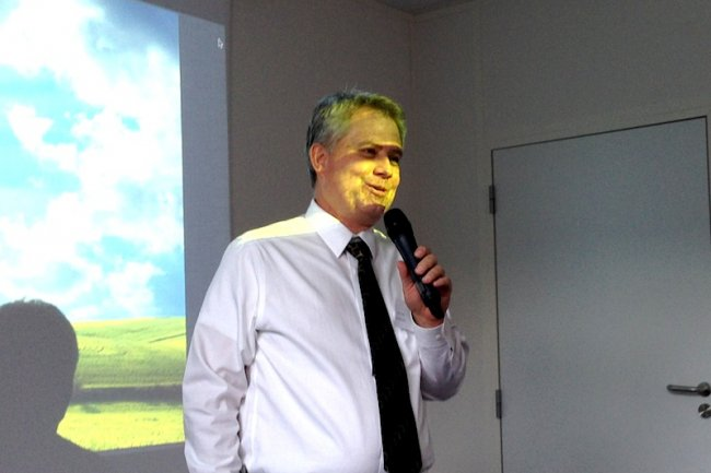 Alan Clark était l'invité de Numergy le jeudi 24 octobre à Aubervilliers.