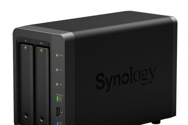 Avec son NAS deux baies, Synology am�liore les performances de son entr�e de gamme.