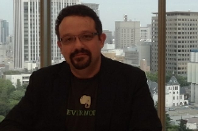 Phil Libin, CEO d'Evernote accepte les critiques et pr�voit des am�liorations de l'application de prise de notes. Cr�dit Photo: D.R