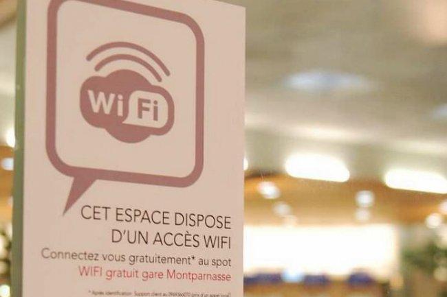 128 gares SNCF proposeront gratuitement l'accès au réseau WiFi . Crédit: D.R