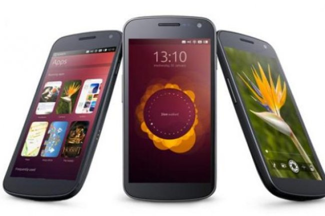 Derri�re les leaders Android et iOS, Ubuntu cherche � se faire une place au soleil sur le march� des smartphones. Cr�dit D.R.