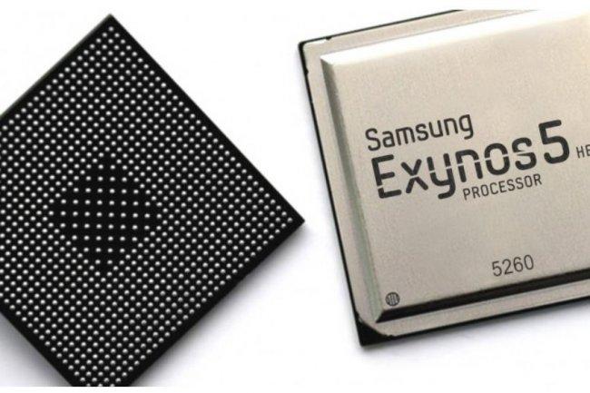 Les dernières puces 32 bits Exynos 5 de Samsung pourront alimenter le Galaxy S5. Crédit: D.R