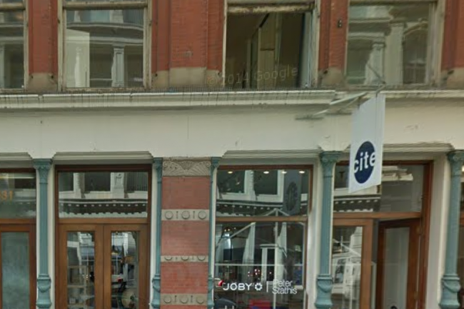 Pour sa première boutique, Google a choisi de s'implanter en plein coeur de Manhattan, dans le quartier de Soho. Crédit D.R.