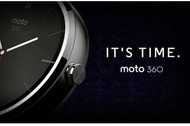 La Moto 360 de Motorola sera le premier mod�le de montre connect�e sous Android Wear. (cr�dit : D.R. cliquer pour agrandir)