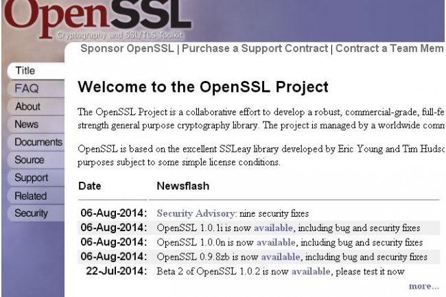 Plusieurs mises � jour ont �t� livr�es cette semaine pour OpenSSL 1.0.1i, 1.0.0n et 0.9.8zb.