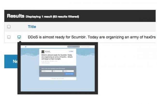 Avec son outil Scumblr, versé dans l'Open Source, Netflix surveille sur le web pour protéger ses services. (crédit : Netflix)