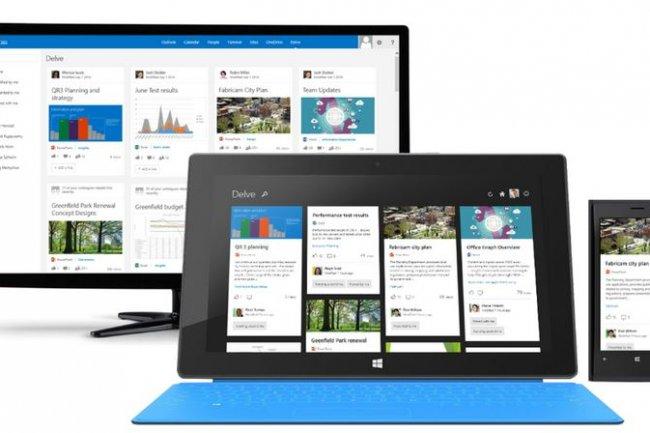 Aceesible aux abonnés d'Office 365, Delve permet d'exploiter les capacités de Learning Machine d'Office Graph. Crédit: D.R