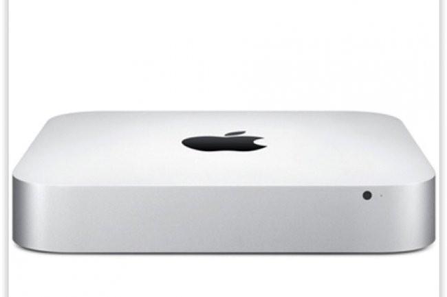 Le modèle haut de gamme du Mac mini qui embarque une puce Intel Iris Graphics est proposée à 999 euros. (crédit : D.R.)