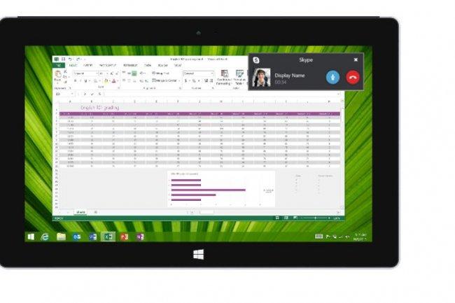 L'interface de Skype For Business ressemblera fortement à celle de Skype et reprendra notamment la  gestion des appels vidéo. Crédit: D.R