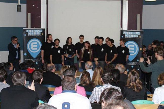 La remise des prix du Forum des Epitech Innovative Projects s'est déroulé en fin de semaine dernière sur le campus de l'école. Crédit: D.R