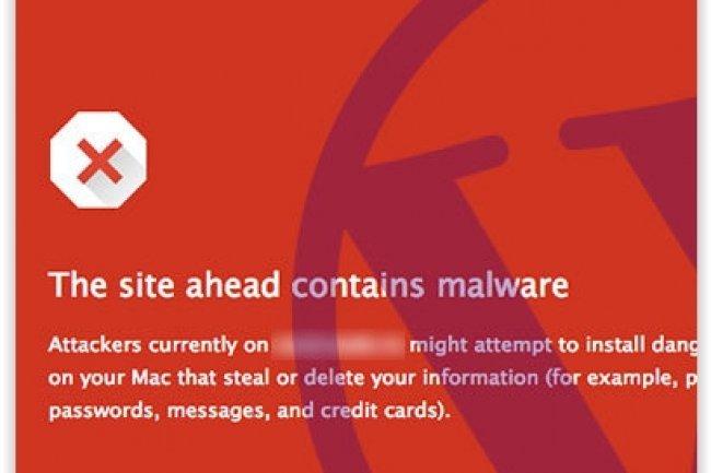 Pour endiguer la propagation du malware SoakSoak, Google a blacklisté 11 000 domaines. (crédit : D.R.)