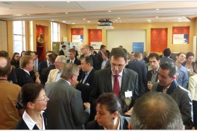 L'IT Tour donne l'occasion, comme ici le 6 novembre � Reims, aux professionnels IT de se rencontrer, partager des bonnes pratiques et des exp�riences et d�tecter les tendances, le tout dans une ambiance studieuse mais conviviale. (cr�dit : LMI)
