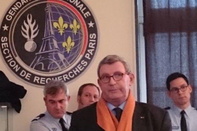 Le général (2s) Marc Watin-Augouard, fondateur du FIC, à la caserne Davout le 8 janvier.