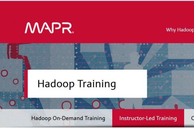 Pour susciter les vocations autour du framework Hadoop, MapR propose une formation On-Demand gratuite. Crédit: D.R.