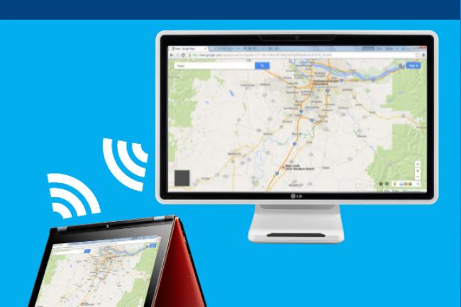 Avec le WiGig, les conenxions peuvent monter jusqu'à 7 Gigabits sur une courte distance.