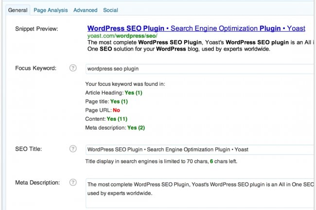 Le plug-in SEO Yoast est l'un des plus populaires pour Wordpress. (cr�dit : D.R.)