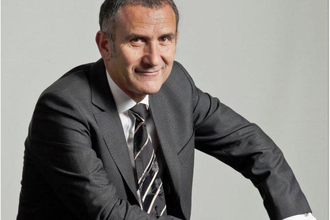 Guy Mamou-Mani, pr�sident de Syntec Num�rique, a pr�sent� ce matin les pr�visions de croissance pour 2015 du secteur des logiciels, du conseil et services informatiques, un march� �valu� � 50,4 Md�. (cr�dit : D.R.)