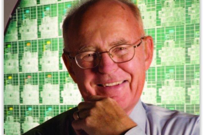 Gordon Moore, créateur de la loi éponyme, et co-fondateur d'Intel. (crédit : D.R.)