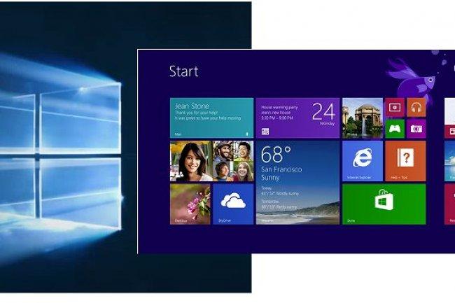 Le système de mise à jour de Microsoft donne 30 jours aux utilisateurs de Windows 8.1 ou 7 pour retrouver leur ancien environnement. (crédit : D.R.)