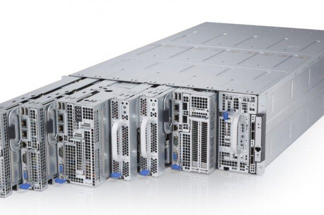 Le serveur PowerEdge C8000 fait partie del gamme actuelle de Dell à destination des clients à la recherche de matériel cloud et hyperscale.