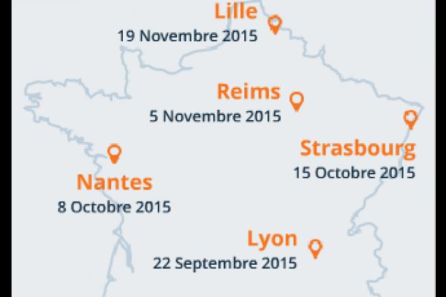 IT Tour 2015 : Venez participer au tour de France LMI en régions