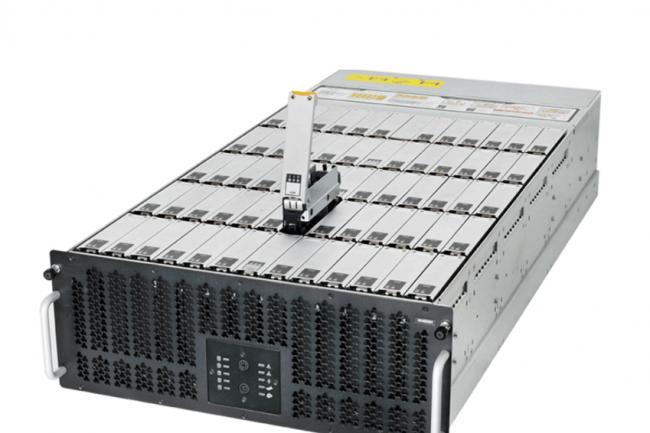 Quanta propose des serveurs x86 dédiés au stockage particulièrement dense pour concevoir des plate-formes hyperscales.