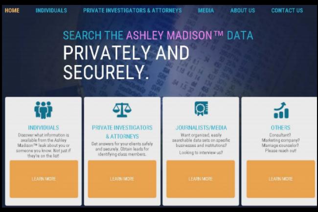 Plusieurs sites permettant de retrouver l'identité des utilisateurs d'Ashley Madison sont hébergés par GoDaddy et AWS. (crédit : D.R.)
