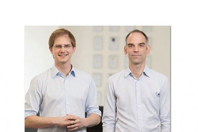 Les dirigeants co-fondateurs de Novatim, François Poulet (à gauche), PDG, et Nicolas Bertin, DG, veulent réaliser des acquisitions ciblées. (crédit : D.R.)