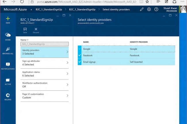 La plateforme Azure Active Directory permet désormais de vérifier des identités à partir des comptes Facebook et Google.