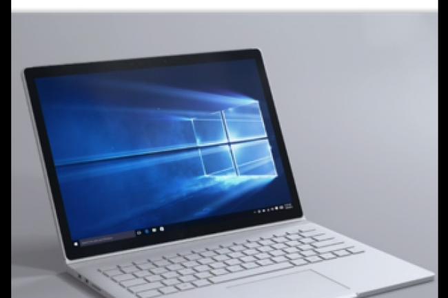 La Surface Book sera lancée le 26 octobre au tarif de 1 499 dollars. (crédit : D.R.)