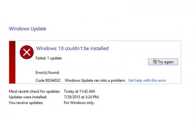 Des problèmes de pilotes matérielles, souris ou imprimante par exemple, peuvent bloquer la mise à jour vers Windows 10. (crédit : D.R.)