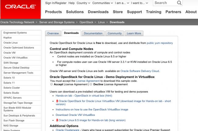 Oracle Linux 6.5 arrive avec le framework OpenStack dans sa déclinaison Kilo.