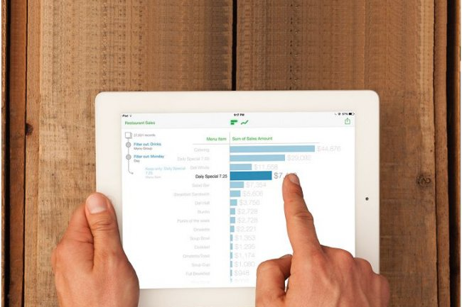 Tableau a construit son app de visualisation de données Vizable en exploitant les capacités des écrans tactiles.