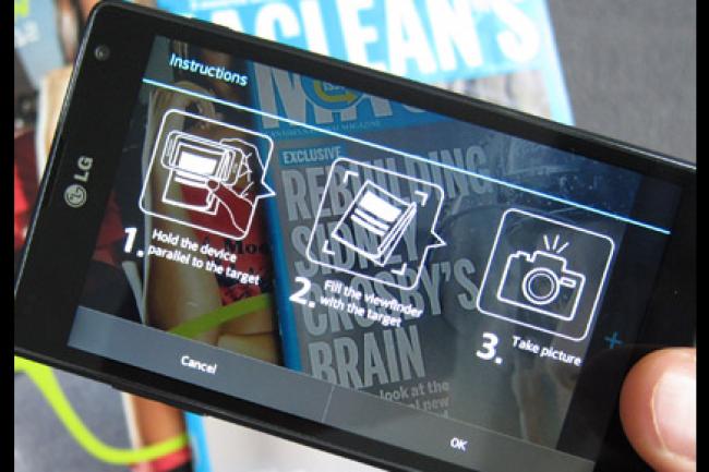 PTC va s'appuyer sur la technologie Vuforia pour proposer des expériences mobiles augmentées. (crédit : D.R.)