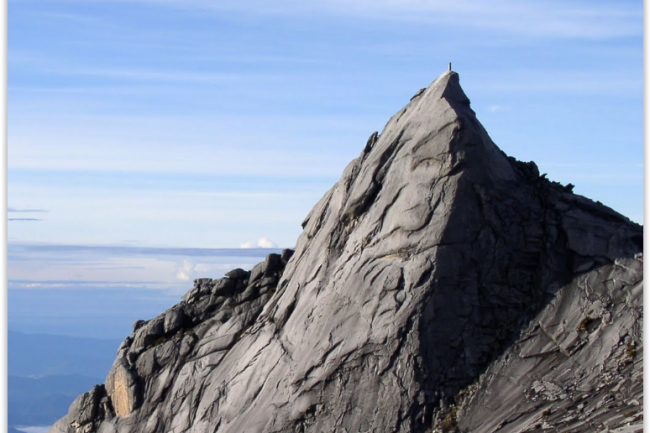 Google Street View a capté le Mont Kinabalu, ainsi que son parc, sont inscrits depuis décembre 2000 au patrimoine mondial de l'Unesco. (crédit : D.R.)