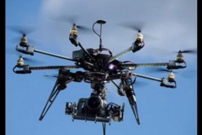 Le Parlement européen a voté une résolution à une large majorité (581 voix pour, 31 contre et 21 abstentions) concernant l'utilisation des drones. (crédit : D.R.)