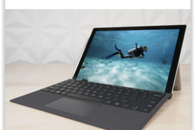 La Surface Pro 4 a été lancée le 26 octobre par Microsoft pour un prix allant de 999 à 2 449 euros. (crédit : D.R.)