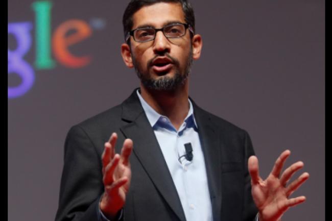Sundar Pinchai, CEO de Google, voit sans doute d'un bon oeil la fusion entre Chrome OS et Android, tant en termes d'unification de ses développements que de continuité d'usage multiplateformes apportée aux utilisateurs. (crédit : D.R.)