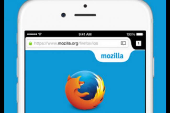 Firefox iOS vient d'être lancé par Mozilla en version finale. (crédit : D.R.)