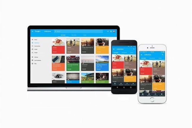 Google prépare une évolution de Google+ recentrée autour des espaces Communautés et Collections, à tester sur le web et, bientôt, sur iOS et Android. (crédit : D.R.)