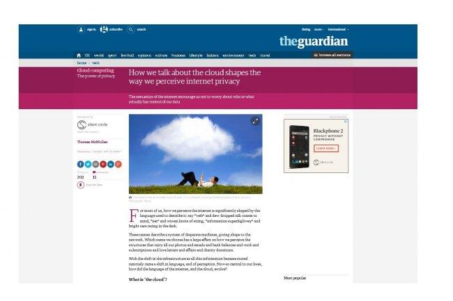 The Guardian qualifie de « désastre total » son projet de cloud privé sur OpenStack. Depuis, le quotidien britannique est passé sur AWS. (crédit : D.R.)