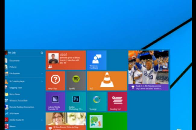 Malgré l'accélération de ses ventes, Windows 10 a toujours 23 points de part de marché de retard par rapport à Windows 8 quatre mois après leurs lancements respectifs. (crédit : D.R.)