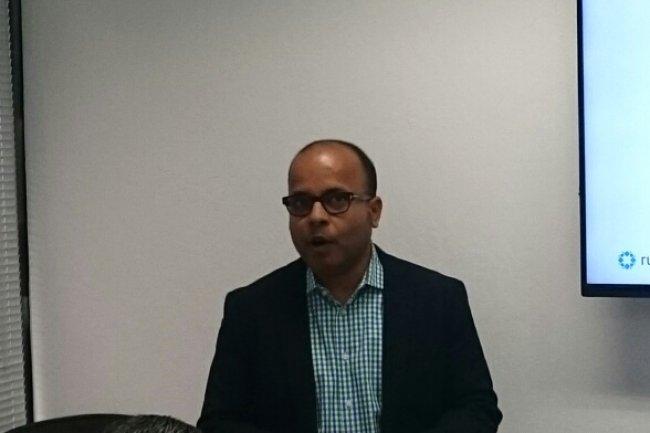 Bipul Sinha, CEO/cofondateur de Rubrik, était précédemment un capital risqueur ayant investi avec succès dans Nutanix. (crédit : D.R.)