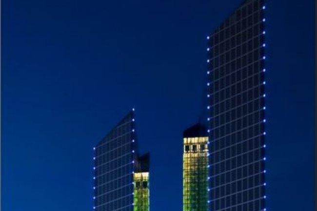 IBM installe le siège social mondial de sa nouvelle unité Watson IoT en Allemagne, dans les Highlight Towers de la rue Mies-van-der-Rohe à Munich. (crédit : D.R.)