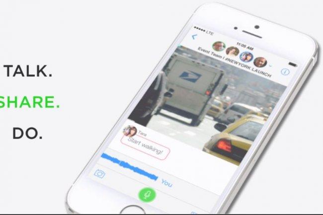 Des milliers d'utilisateurs itinérants ont utilisé l'app de messagerie mobile Talko chaque jour pour se coordonner. Rachetée par Microsoft, elle ferme en mars prochain. (crédit : D.R.)