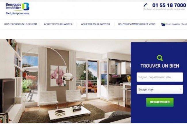 Les bannières commerciales du site Bouygues Immobilier sont maintenant générées automatiquement par DoubleClick de Google.