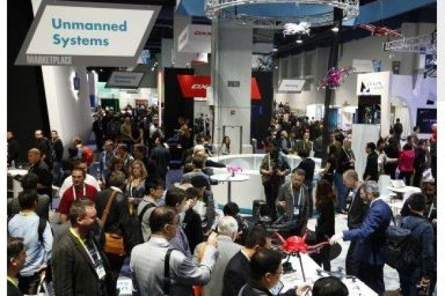 190 start-ups françaises feront cette année le déplacement vers Las Vegas sous la bannière de la French Tech. (crédit : Consumer Technology Association)