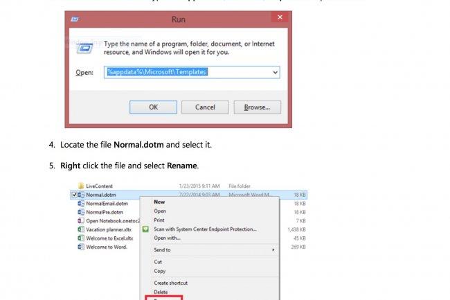 Sur le site de son support, Microsoft a publié une fiche détaillée pour expliquer comment récupérer ses personnalisations après une mise à jour de Word 2016 ayant supprimé le fichier normal.dotm.