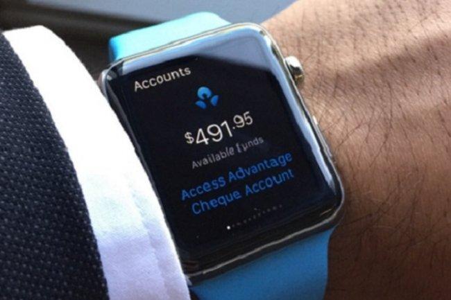 Le lancement de l'Apple Watch a convaincu les banques de l'intérêt de développer des apps pour ces clients.
